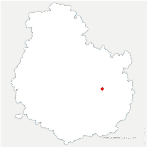 carte de localisation de Quetigny