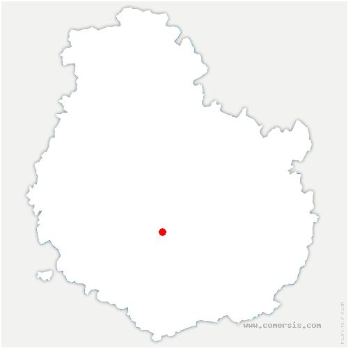 carte de localisation de Remilly-en-Montagne