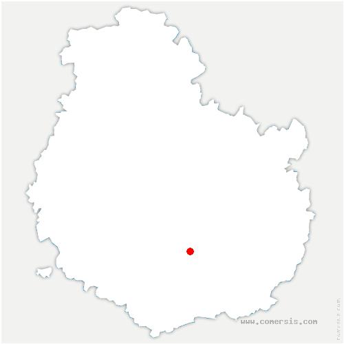 carte de localisation de Reulle-Vergy