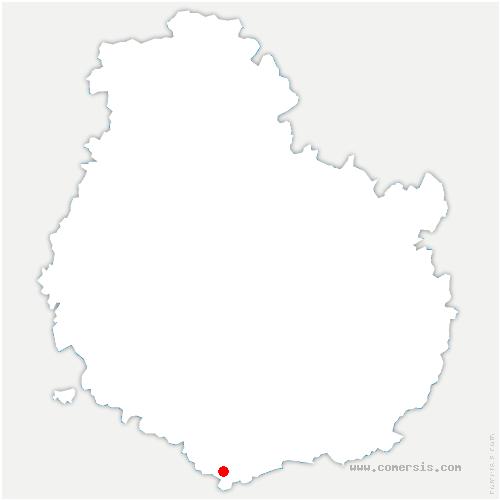 carte de localisation de Rochepot