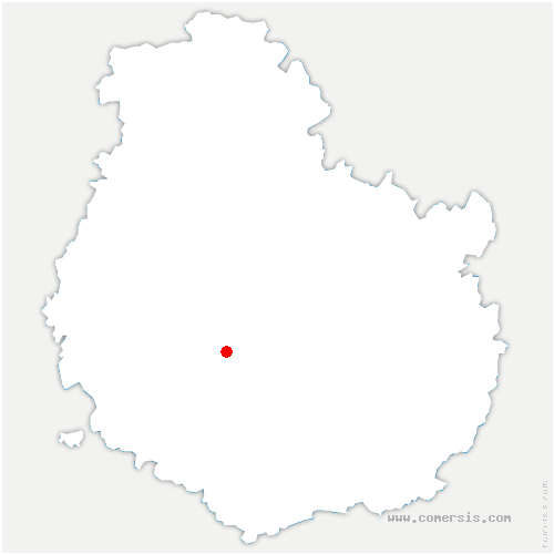 carte de localisation de Saint-Anthot