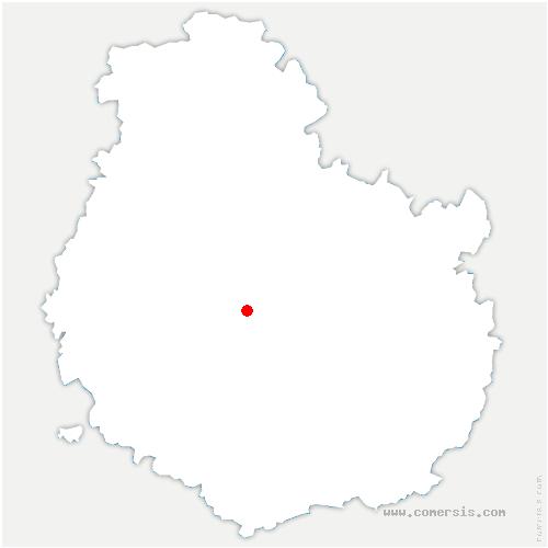 carte de localisation de Saint-Hélier