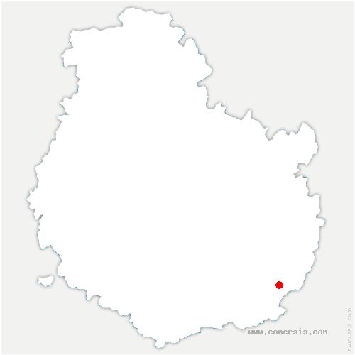 carte de localisation de Saint-Jean-de-Losne