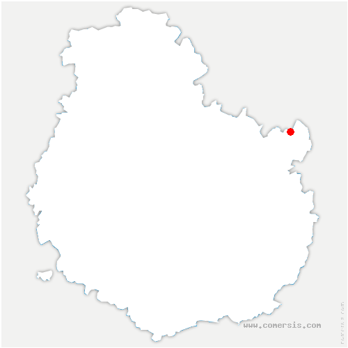 carte de localisation de Saint-Maurice-sur-Vingeanne