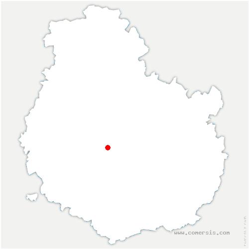 carte de localisation de Saint-Mesmin