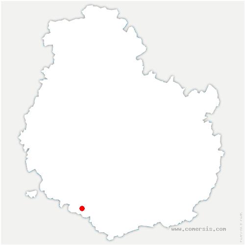carte de localisation de Saint-Pierre-en-Vaux