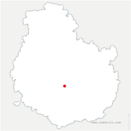 carte de localisation de Sainte-Marie-sur-Ouche