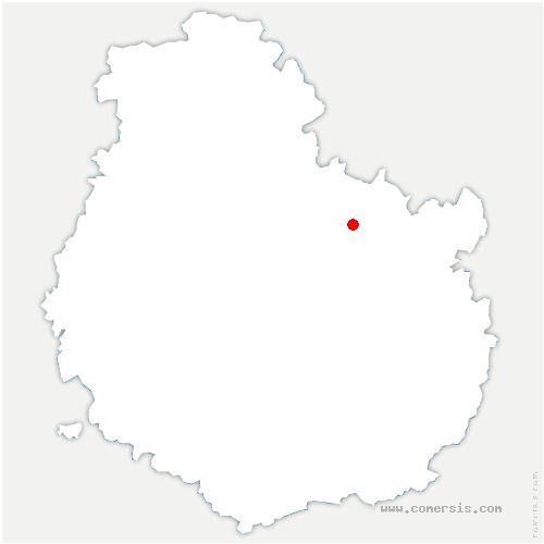 carte de localisation de Saulx-le-Duc