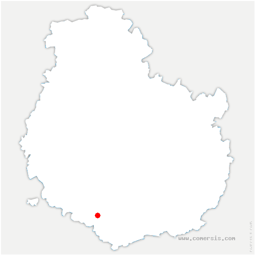 carte de localisation de Saussey