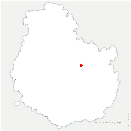 carte de localisation de Saussy