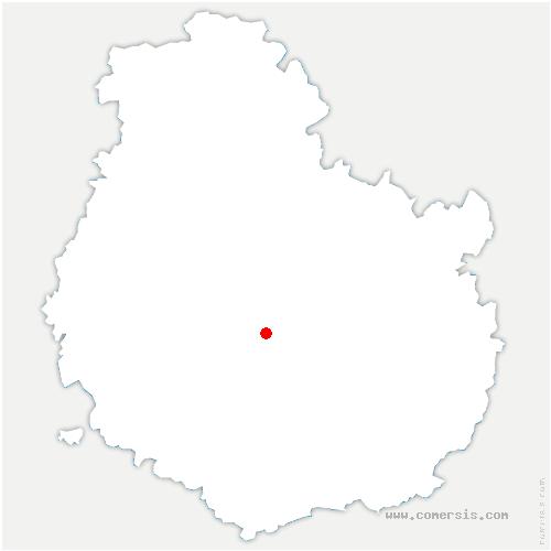 carte de localisation de Savigny-sous-Mâlain
