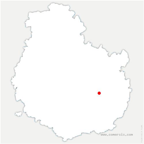 carte de localisation de Sennecey-lès-Dijon