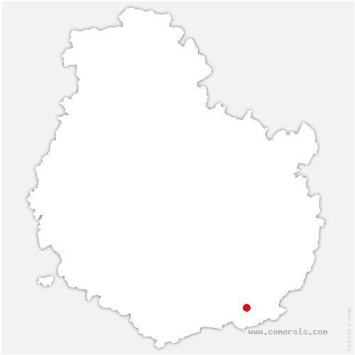 carte de localisation de Seurre