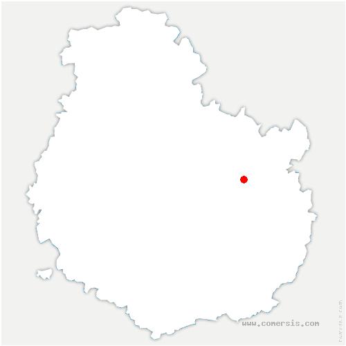 carte de localisation de Spoy