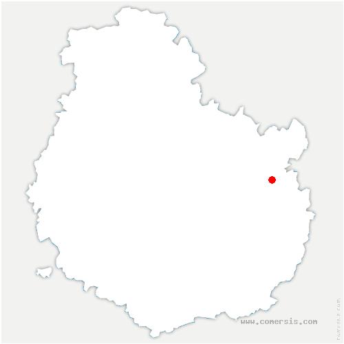 carte de localisation de Tanay