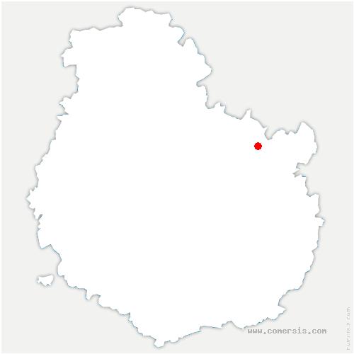 carte de localisation de Til-Châtel