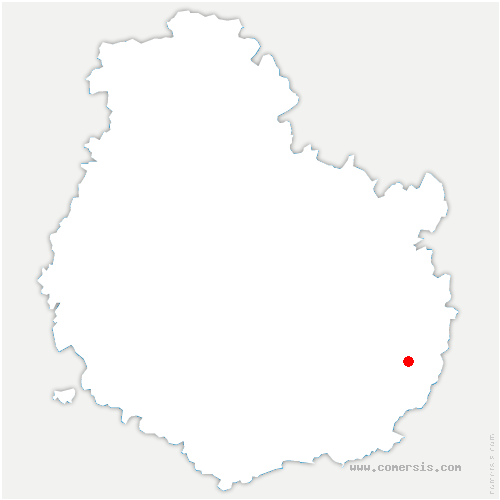 carte de localisation de Tillenay