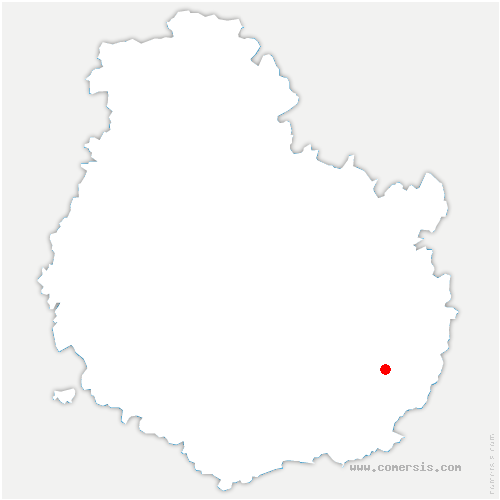 carte de localisation de Tréclun