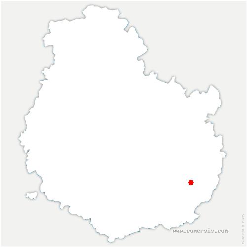 carte de localisation de Trouhans