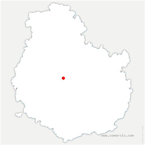 carte de localisation de Turcey