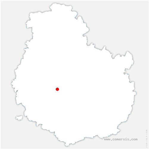 carte de localisation de Uncey-le-Franc