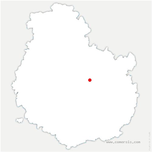 carte de localisation de Val-Suzon