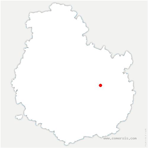 carte de localisation de Varois-et-Chaignot