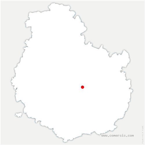 carte de localisation de Velars-sur-Ouche