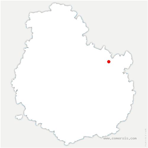 carte de localisation de Véronnes