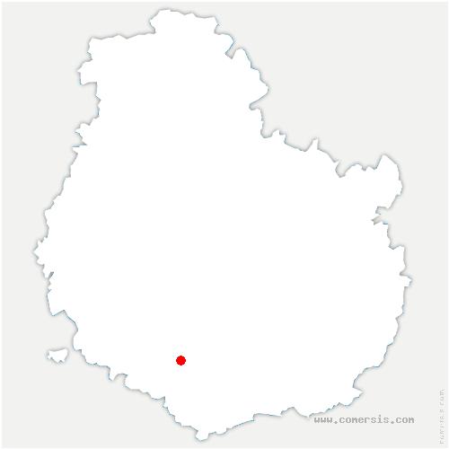 carte de localisation de Vic-des-Prés