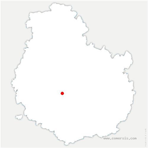 carte de localisation de Vieilmoulin