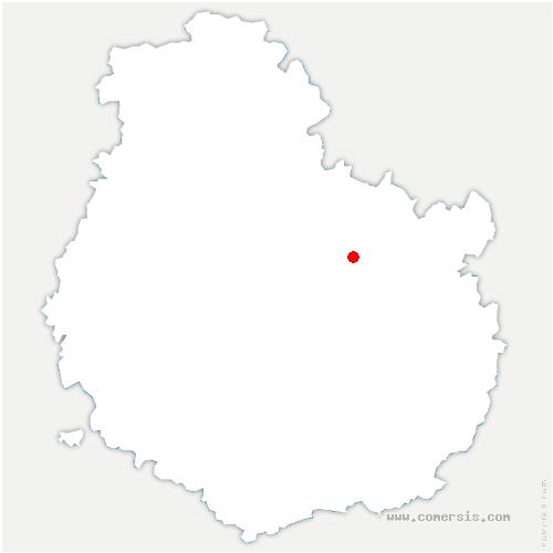 carte de localisation de Villecomte