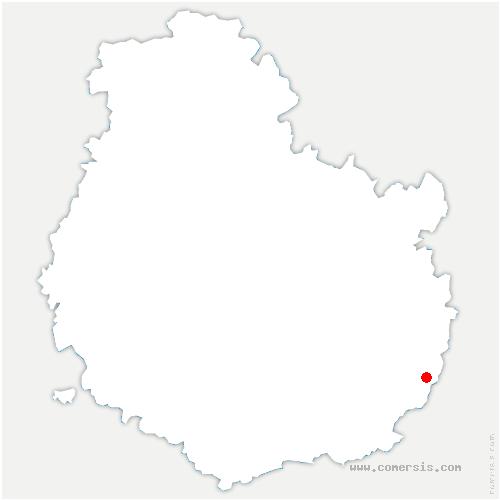 carte de localisation de Villers-Rotin