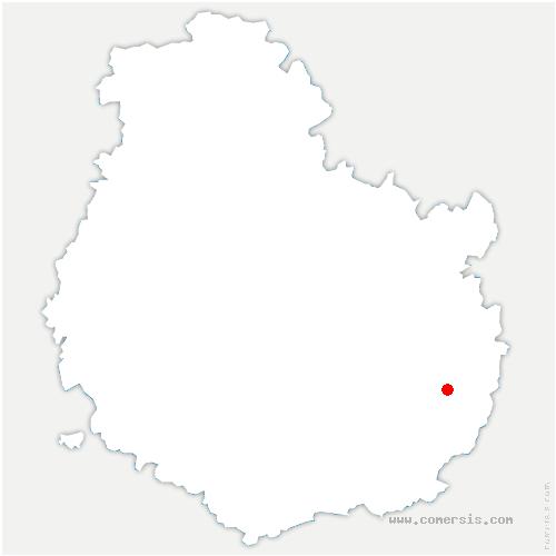 carte de localisation de Villers-les-Pots
