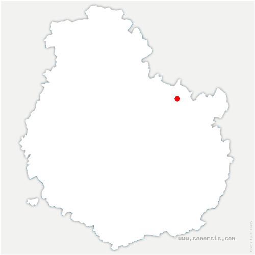carte de localisation de Villey-sur-Tille