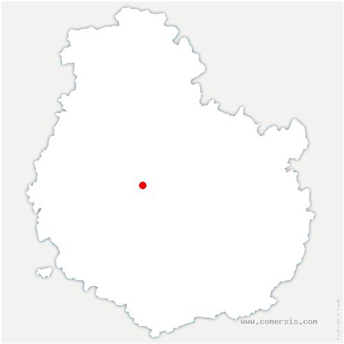 carte de localisation de Villy-en-Auxois