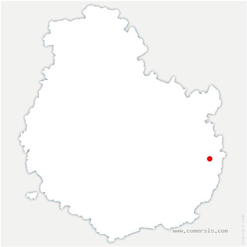 carte de localisation de Vonges