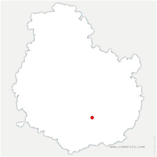 carte de localisation de Vosne-Romanée