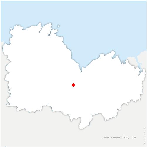 carte de localisation de Plœuc-l'Hermitage