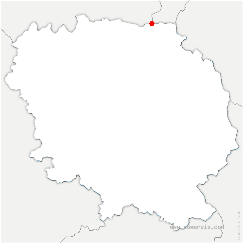 carte de localisation de Bussière-Saint-Georges