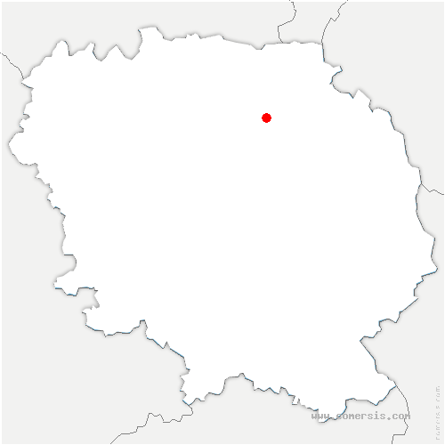 carte de localisation de Domeyrot