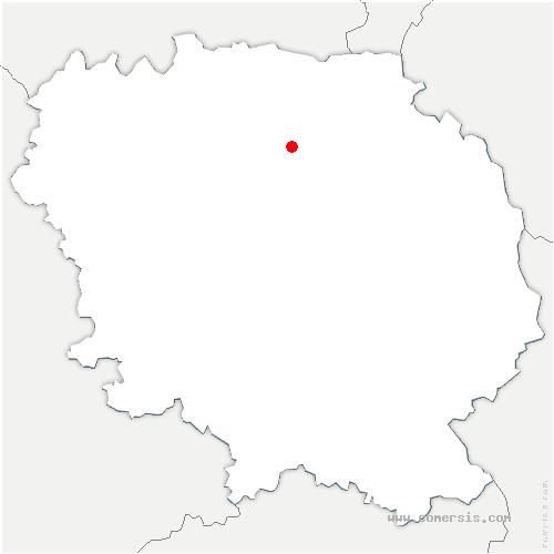 carte de localisation de Ladapeyre