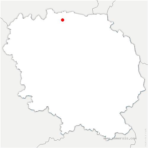 carte de localisation de Linard-Malval
