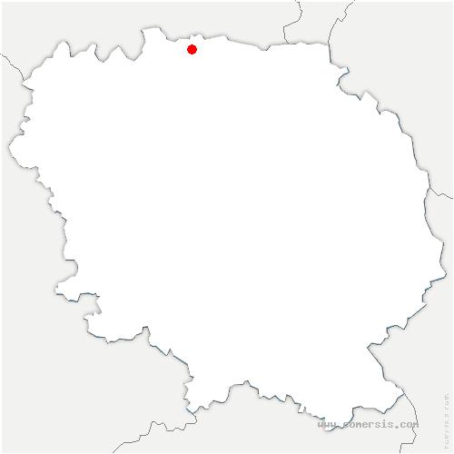 carte de localisation de Mortroux