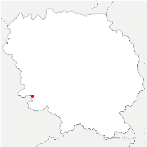 carte de localisation de Saint-Amand-Jartoudeix