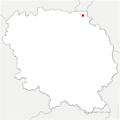 carte de localisation de Saint-Pierre-le-Bost