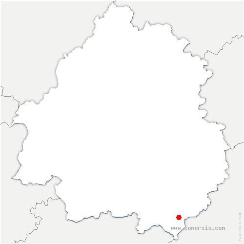 carte de localisation de Besse