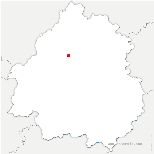 carte de localisation de Biras