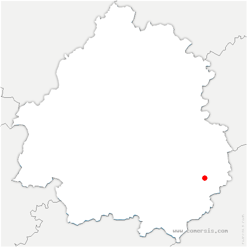 carte de localisation de Carsac-Aillac