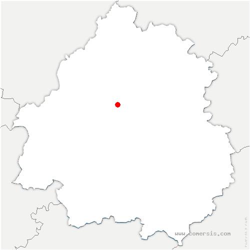 carte de localisation de Chancelade